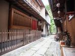 Front View of Kiyomizu Machiya Inn