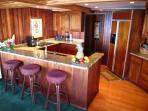 Koa wood & all electric kitchen