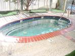 one of the 2 hot tubs