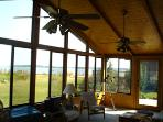 Sunroom Overlooking Bay
