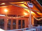 Evening on the Covered Deck