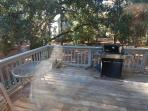 Outside Deck and Grill area