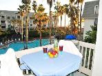 Southside e'Scape -- Sunny Beach Rental Overlooks Pool with Oceanview