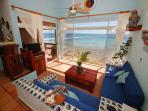 Ocean View Sitting Area, La Sirena 14, Akumal