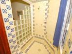 Master bathroom at La Sirena 14, Akumal