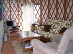 living area 1 bedroom