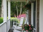 Farmers porch with rockers, when you want a little shade after the beach