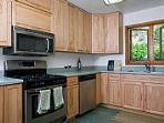 kitchen is fully renovated