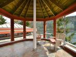 Master bedroom gazebo deck