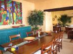 Indoor dinning room