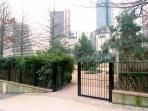 public garden studio paris la defense