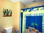 Panama City Beach Splash Guest Bathroom