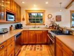Fully equipped kitchen, quality appliances
