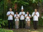Villa Paloma's friendly staff