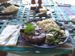 Sample of dinner's served