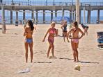 Newport Beach Pier Volleyball