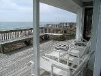 Oceanfront Sun Deck - Partially Covered!