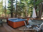 Back Deck-Private Hot Tub
