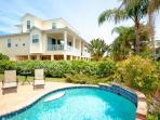 Lush tropical private pool area- Island Walk