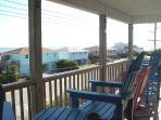 Upper Porch Overlooking Ocean