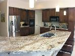 Well Appointed Chef's Kitchen with View of San Jacinto Mountain