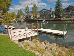 Dock with View of Channel