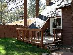 Deck and Fenced Yard