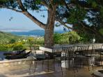 Panorama villa with pool for rent, Trogir area