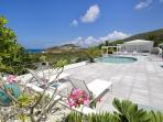 Extensive terrace