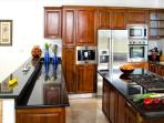 Deluxe stainless steel appliances