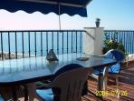 """El ranchito""NerjaMarvellous sea sights over Burriana beach.Free WIFI.last moment offers!"