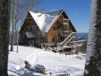 At 4,000 feet elevation, the Lodge receives over 150 inches of snow a year.