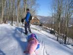 The vast National Forest trail system, is just a few feet from the Lodge.  Direct Trail Access!!!