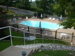 Pool access from our building