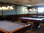 Billiards Room at the Lodge at Arrowhead Lake
