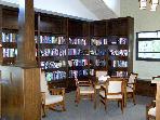 Library at the Lodge at Arrowhead Lake