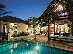 Luxury Samui Pool Villa Overlooking Tranquil Beach