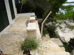 Seafront apartment for rent on Korcula island