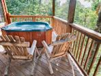 Jacuzzi and Deck