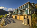 modern accommodation on Queenstown Hill, including secure garage parking for 1 car