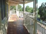Federation cottage front verandah