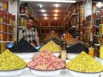 Moroccan Pickled Olives in many flavors and styles