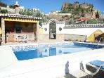 4 bed villa,private pool, near el caminito del rey