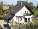 Transylvanian Rental Villa/ Chalet - Rear garden