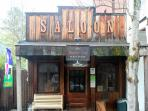 Have a drink at the Whiskey Flat Saloon in downtown Volcano