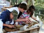 Kids love the 'gemstone mining' at Black Chasm and Sutter Gold Mine