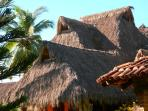 Villa Magnolia palapa roof