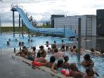 The swimming pool at Borg (ten km away)