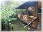Zen Setting in Volcano's Historic Deep Rainforest Retreat