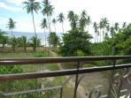 View from ocean-side bedroom